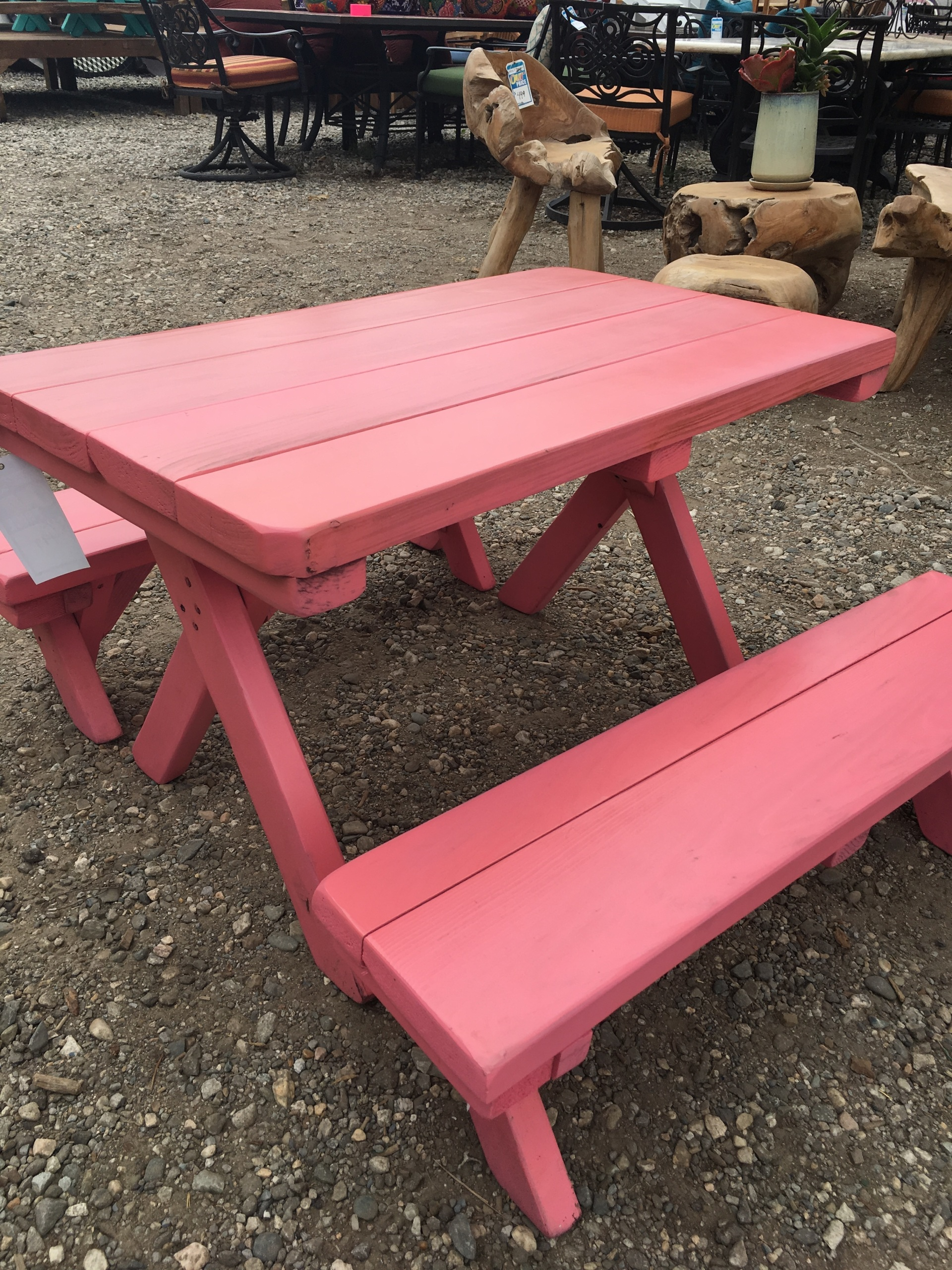 Cedar rectangle dining table 6 foot for Table 6 foot