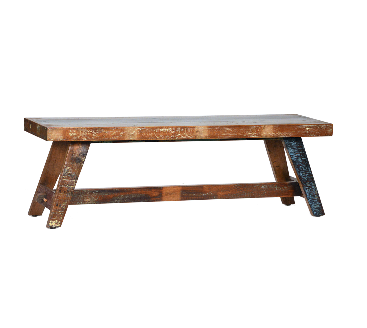 Reclaimed Indian Bench