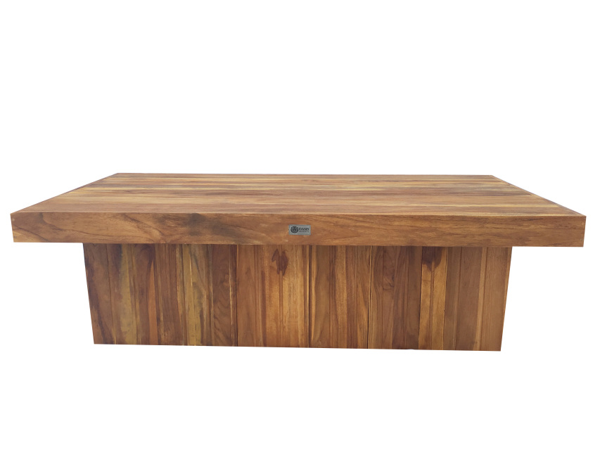 Reclaimed npd coffee table 60 w x 30 d x 18 h for Coffee table 60 x 60